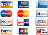 Essellerate accepts most major credit cards