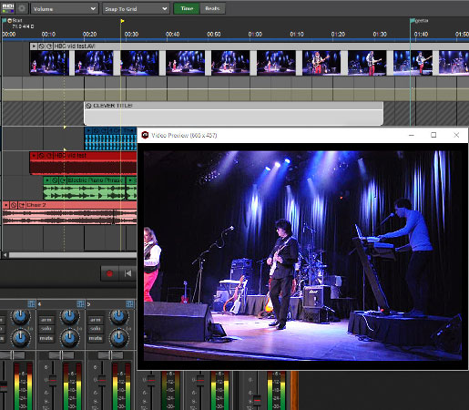Mixcraft 8 recording software video editing